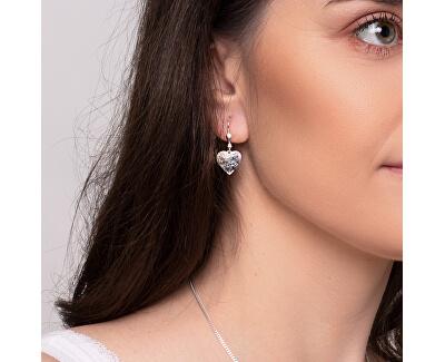 Romantické stříbrné náušnice Cora NA6096_RH