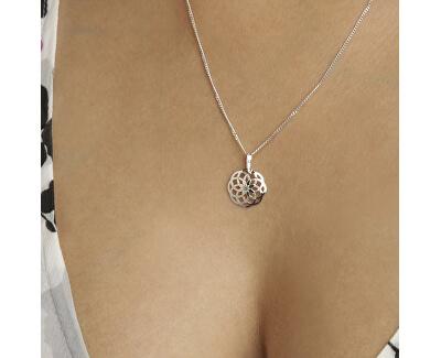 Stilvolle Silber Halskette KO1415_CU035_50 (Halskette, Anhänger)