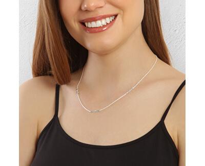 Stylový stříbrný náhrdelník Silver wave N6449_RH