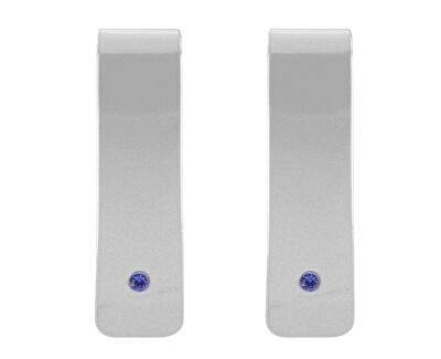 Designové stříbrné náušnice Genia NA5146_RH