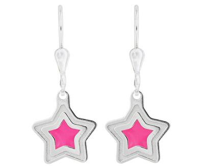 Dívčí stříbrné náušnice Vzdálená hvězda NA6026_RH