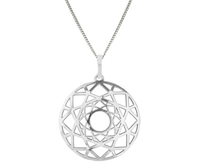 Moderne Silber Halskette Ringinea KO6034_CU040_45_A (Halskette, Anhänger)