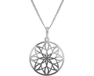 Nádherný sříbrný náhrdelník KO5019_CU040_45_RH  (řetízek, přívěsek)