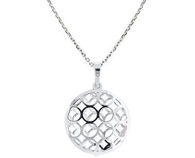 Originální stříbrný náhrdelník KO1694_MO040_45_RH  (řetízek, přívěsek)