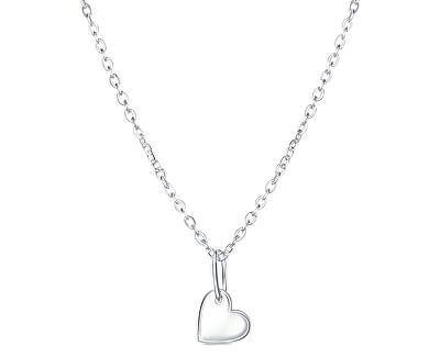 Originální stříbrný náhrdelník Small love KO6329_BR030_40_RH (řetízek, přívěsek)