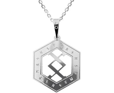 Herren Silber Halskette Happ KO5203_MO060_50 (Halskette, Anhänger)