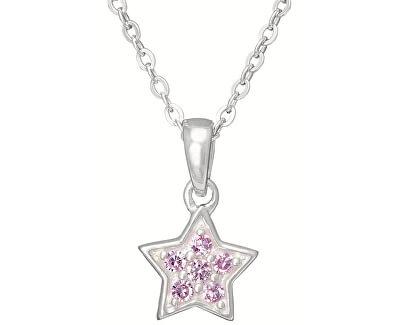 Silber Kinder Halskette Stern KO8007_BR030_40 (Halskette, Anhänger)