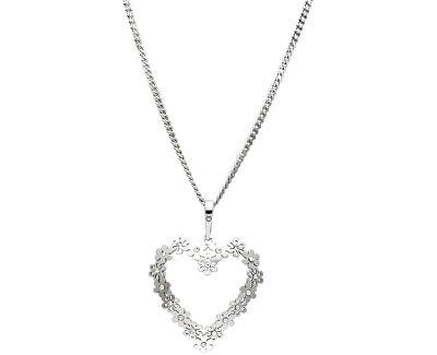 Stříbrný náhrdelník Heartbeat KO1151_CU050_45_RH  (řetízek, přívěsek)