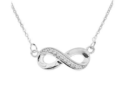 Stříbrný náhrdelník Infinity N8072_RH