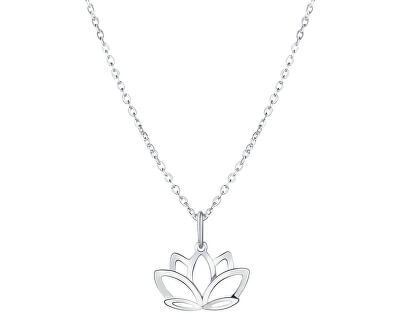Stříbrný náhrdelník Lotos KO6337_BR030_45_RH  (řetízek, přívěsek)