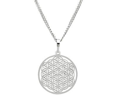 Stříbrný náhrdelník Mandala KO1785m_CU050_50_RH  (řetízek, přívěsek)