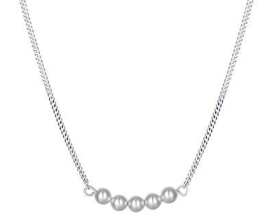 Trendy stříbrný náhrdelník Sweet pearl N6341_RH