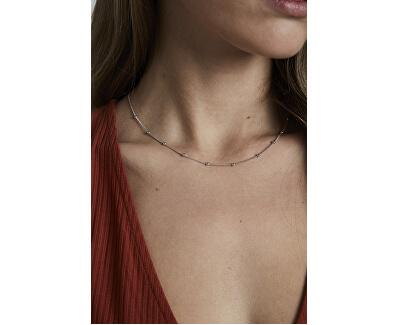 Oceľový náhrdelník s guličkami Iggy JDCHS-J059