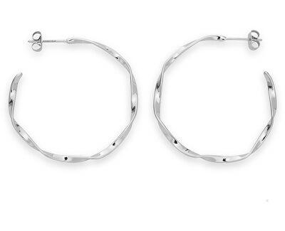 Oceľové náušnice kruhy Iggy JTWHS-J095