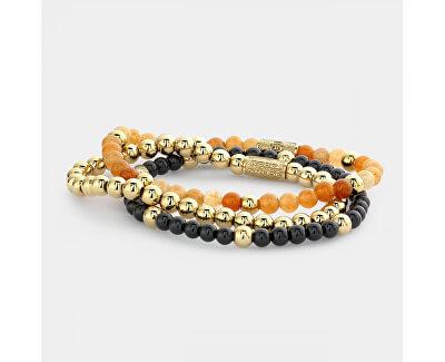 Elegantní korálkový náramek Orange Sky RR-40087-G