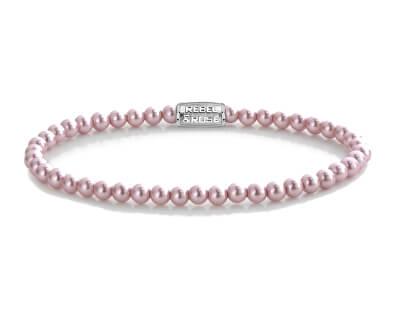 Korálkový náramek Endless Summer Pink Pearl RR-40091-S