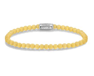 Korálkový náramek Endless Summer Yellow RR-40092-S