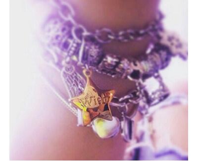 Pandantiv placat cu aur Happy Stea cu urare SHA46