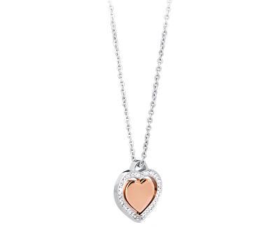 Colier drăguț Inimă Carillon SCN01