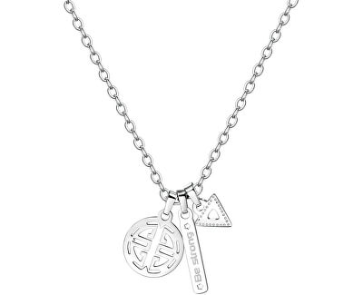 Pánsky oceľový náhrdelník India SIN04