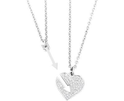 Partnerský náhrdelník Srdce se šípem SBT04
