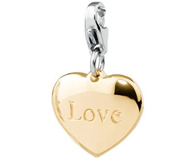 Pandatic placat cu aur Happy Inimă îndrăgostită SHA48