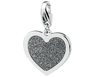 Pandantiv romantic Happy Inimă strălucitoare SHA20