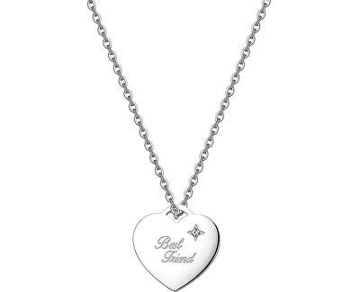 Srdiečkový náhrdelník Be My Always Best Friend SBM01