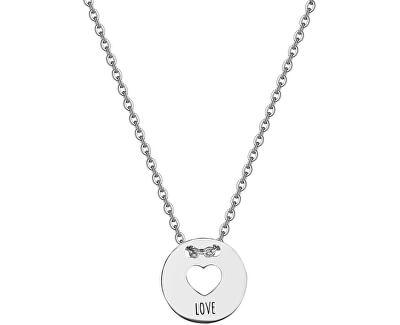 Srdiečkový náhrdelník Be My Always Love SBM06