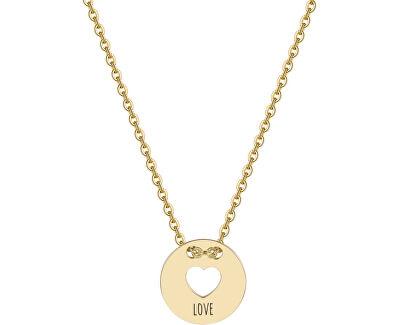 Srdiečkový náhrdelník Be My Always Love SBM11