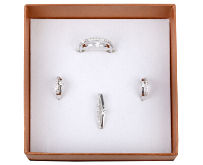 Inel de argint cu cristal SC118