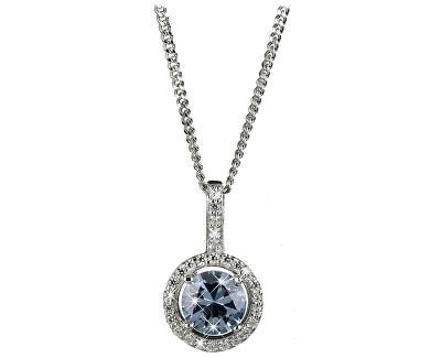 Očarujúce náhrdelník s kryštálmi SC294 (retiazka, prívesok)
