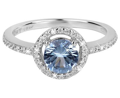 Očarujúce prsteň so zirkónmi SC293