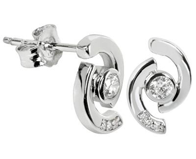 Cercei din argint cu cristale SC114