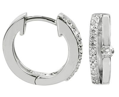 Cercei dIN argint cu cristale SC120
