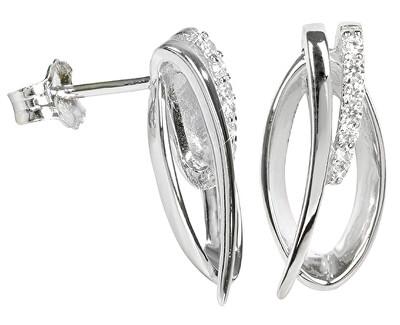 Cercei din argint cu cristale SC162