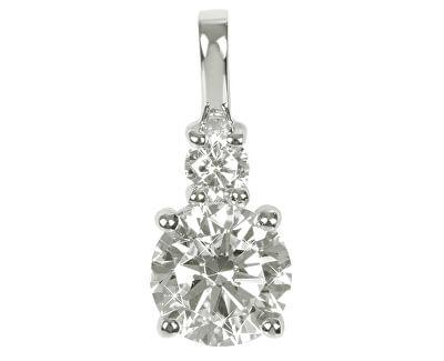 Pandantiv din argint cu cristale SC125