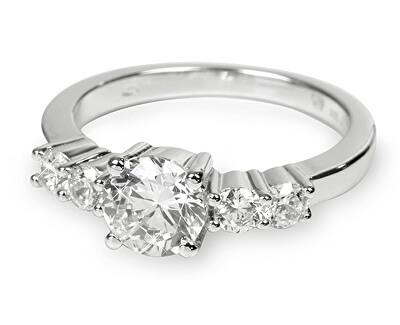 Inel din argint cu cristal SC124