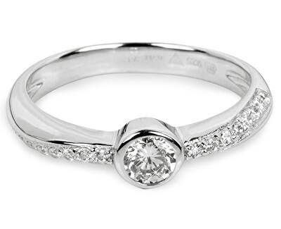 Inel din argint cu zirconii SC177