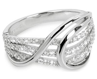 Inel din argint cu zirconiu SC186