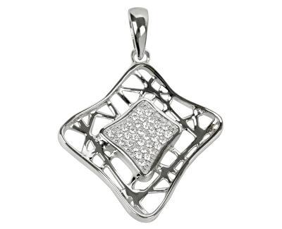 Stříbrný přívěsek s krystaly SC017