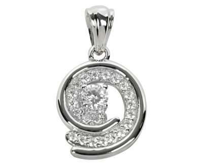 Pandantiv din argint cu cristale SC020