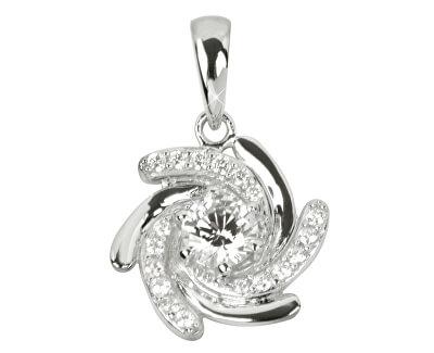 Pandantiv din argint cu cristale SC041