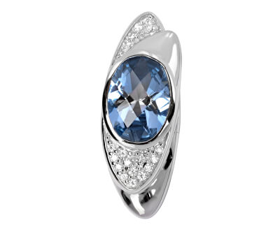 Stříbrný přívěsek s krystaly SC056