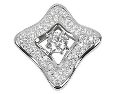 Stříbrný přívěsek s krystaly SC068