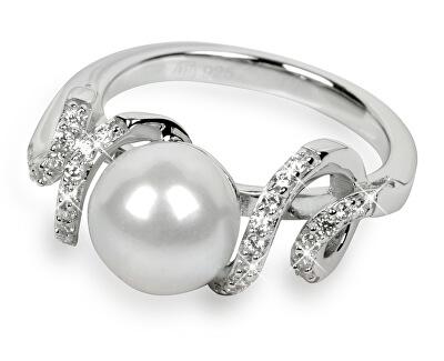 Inel din argint cu cristale SC028