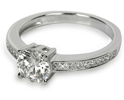 Stříbrný prsten s krystaly SC031