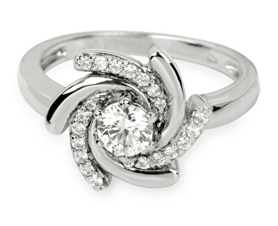 Inel de argint cu cristale SC040