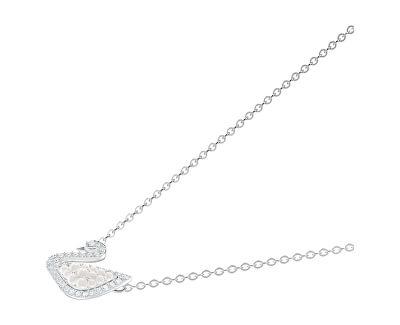 Luxusní náhrdelník s labutí Iconic 5450946 - SLEVA