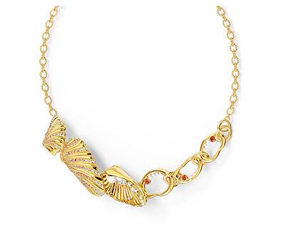 Luxusní pozlacený náhrdelník Plody moře Shell 5520667